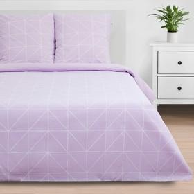 Постельное бельё «Этель» 1.5 сп Purple haze 143*215 см, 150*214 см, 70*70 см - 2 шт
