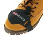 Защитная накладка на обувь, под рычаг переключения передач, черная