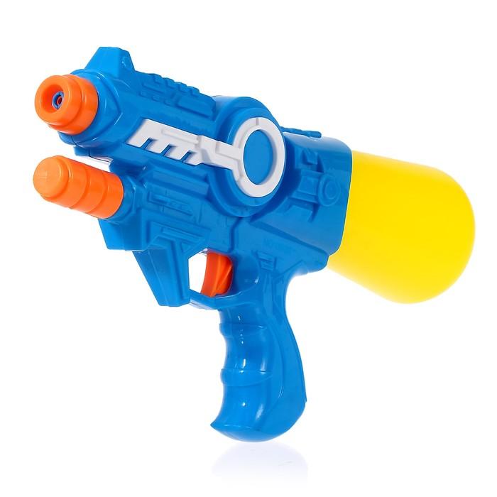 Водный пистолет «Космос», с накачкой, 28 см, цвета МИКС