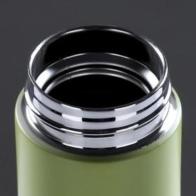 """Термос-заварочник """"Мастер К."""", 500 мл, сохраняет тепло 10 часов, зелёный - фото 66649"""