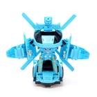 Робот-трансформер «Вертолёт», световые и звуковые эффекты, работает от батареек - фото 105504706