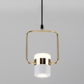Светильник Oskar, 9Вт LED, 4200К, 380лм, цвет золото,чёрный
