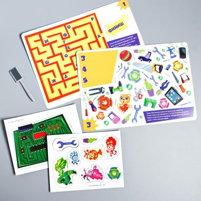 Магнитная игра «Фикси головоломка», ФИКСИКИ - фото 105605533