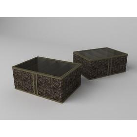 Короб для обуви высокий «Русский Шик», 48х34х20 см