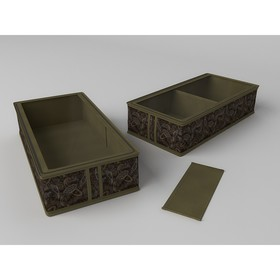 Короб для сапог и полусапожек «Русский Шик», 26х52х12 см