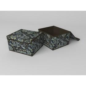 Короб для хранения жёсткий «Прованс», 35х30х20 см