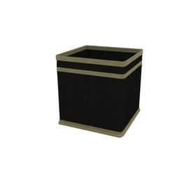 Коробка - куб жёсткая Cofret «Классик чёрный», 17х17х17 см