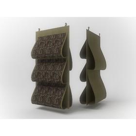 Кофр для сумок Cofret «Русский Шик», двусторонний, 5 карманов, 40×70 см
