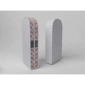 Чехол двойной для одежды большой «Шебби Нью», 60х130х20 см