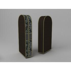 Чехол двойной для одежды малый «Прованс», 60х100х20 см