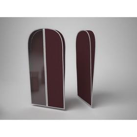 Чехол для хранения шубы «Классик бордо», 60х160х10 см