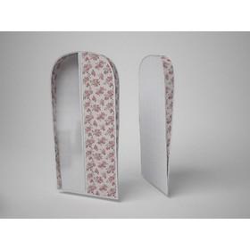 Чехол объемный для одежды малый «Шебби Нью», 60х100х10 см