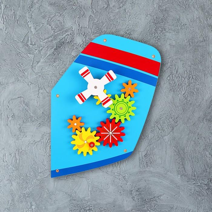 Бизиборд из составных частей «Самолёт» на стену - фото 108908027