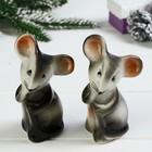 "Figurine ""Mouse-norushka"" H=9.5 cm"