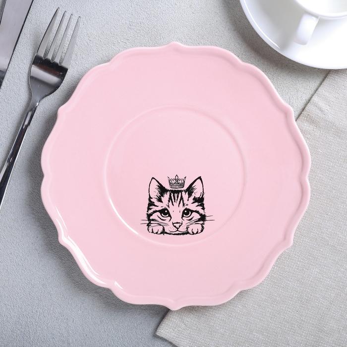Тарелка «Кошка», Ø 20 см - фото 251986