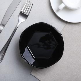 "Bowl geometry ""Black"", 13 cm"