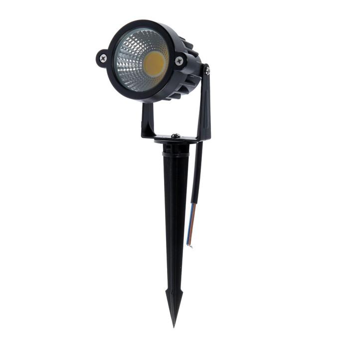 Светильник светодиодный грунтовый, 7 Вт, 630 Лм, IP65, 3000 К, 220 В