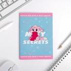 """Анкета для девочек """"My secrets"""" 16 листов"""
