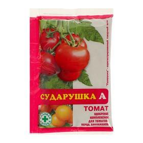 """Удобрение водорастворимое минеральное """"Сударушка А"""", томат, 60 г"""