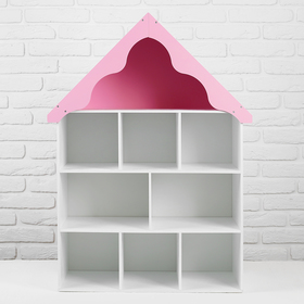 Кукольный домик-стеллаж «Любава»