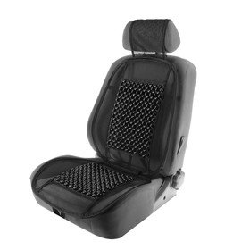This car seat massager on the seat 123 x 47 cm, wood coffee massage insert