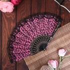 Veer plastics, textiles Leopard lace MIX 22.5 cm