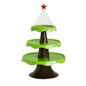 Этажерка подарочная Merry tree 32×51 см, зелёная