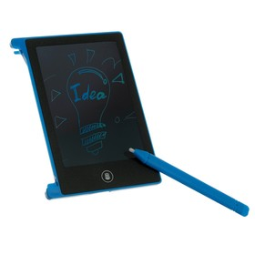 """Tablet for drawing LuazON model LC-01, 4,4"""", blue"""