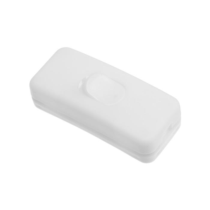 Проходной выключатель TUNDRA, для бра, белый