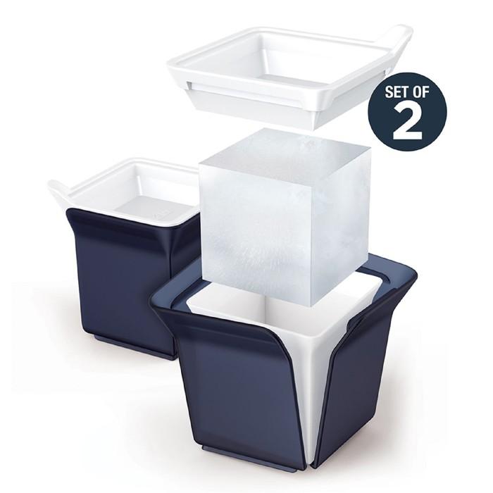 Форма для льда Cube, чёрная