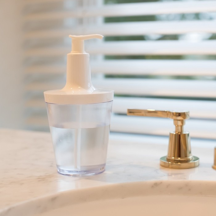 Диспенсер для мыла Flow 250 мл, белый