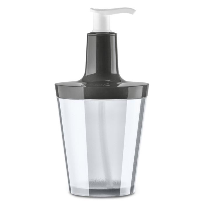 Диспенсер для мыла Flow 250 мл, тёмно-серый