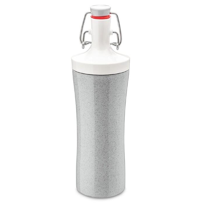 Бутылка для воды Plopp to go organic 425 мл, серая