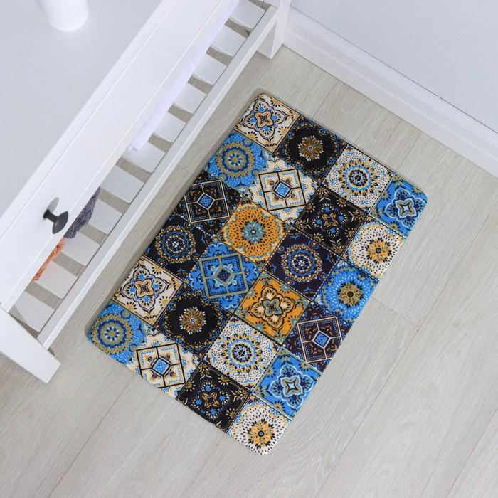 """The bath Mat 40x60 cm """"Bohemia"""" mosaic"""