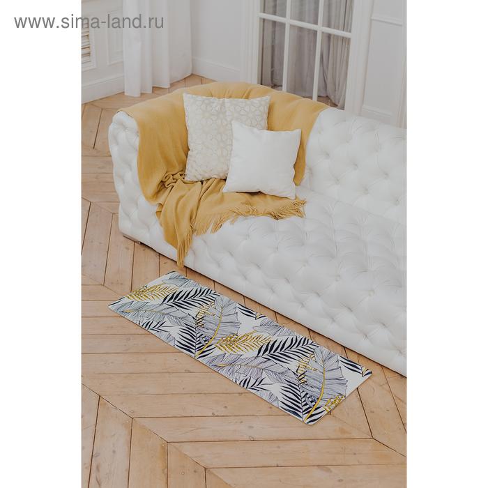 """Bathmat 45х120 cm """"Leaves"""""""
