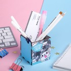 """Organizer for stationery """"1000 cats..."""" 65 x 65 x 70 mm"""