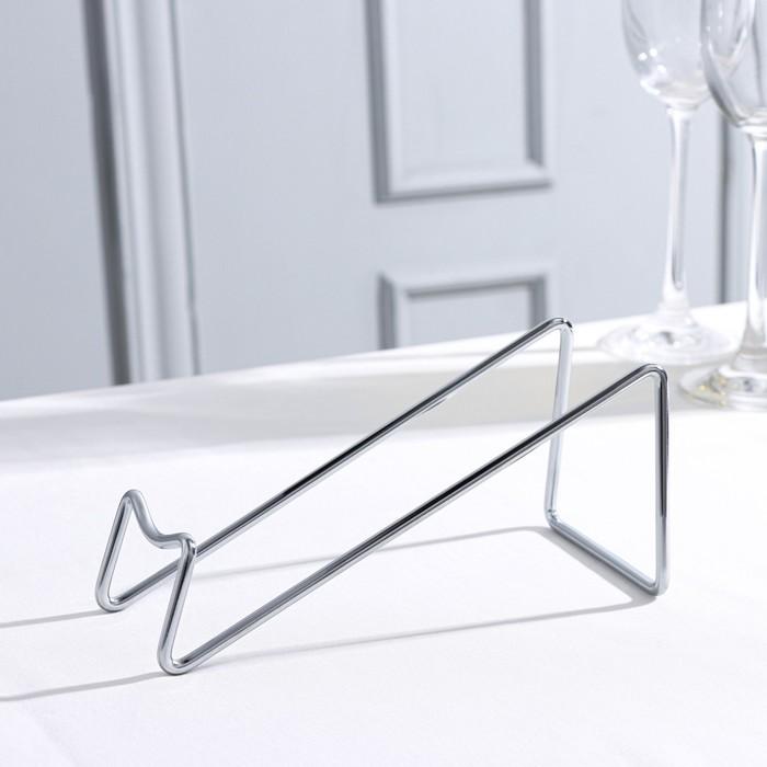 Подставка для бутылки Доляна «Минимал», 18×7,5×8 см