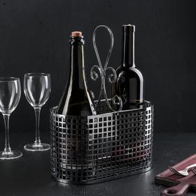 Подставка для бутылок Доляна, 31,5×24×13 см