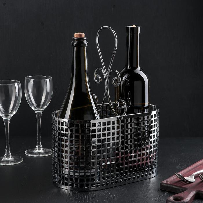 Подставка для бутылок 31,5×24×13 см