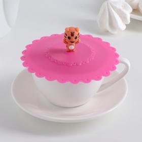 "Cover-pot ""the terrible tiger"" 11 cm, MIX color"