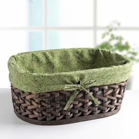 Корзина для хранения плетёная «Джунгли», цвет коричневый