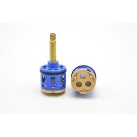"""Картридж дивертора """"Душ Сити"""" K3, для душевых кабин, d=33 мм, шток 40 мм, 2-3 режима, шлицы   477685"""