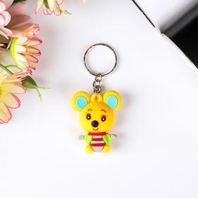 "Keychain rubber ""Koala in a sweater"" MIX 4x3,2x1 cm"
