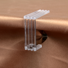 "Clips for tablecloths 4-piece ""holder"", color transparent"