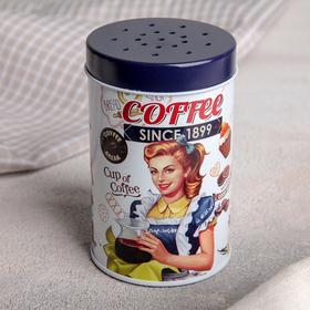 Емкость для сыпучих продуктов 100 мл Coffee, с ручкой