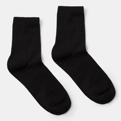 "Socks MINAKU ""Bamboo"" from 26 to 28 cm, black"