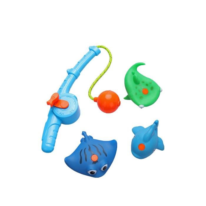 Набор игрушек для ванной Happy Baby Fishman, от 3 лет