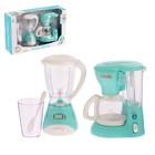 Набор бытовой техники «Для кухни», блендер, кофеварка, со световыми и звуковыми эффектами - фото 997570