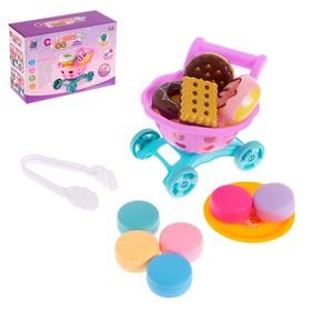 Игровой набор «Магазинчик» с тележкой и продуктами питания