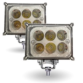 "Фара светодиодная ""OFF-Road"" AVS Light FL-1174, 110х36х62мм, 18 Вт,  ""Basic"", набор 2 шт"